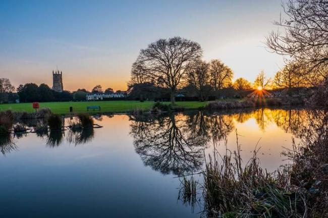 Cirencester Abbey Grounds. Picture by John Spreadbury