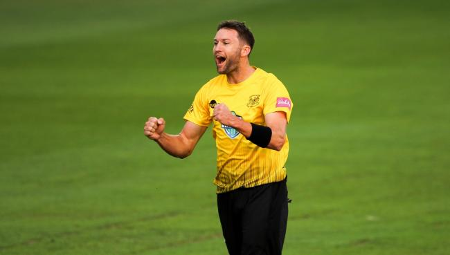 Gloucestershire v Somerset  Vitality T20 from The Brightside Ground , Bristol 13-7-18 Pic by Martin Bennett