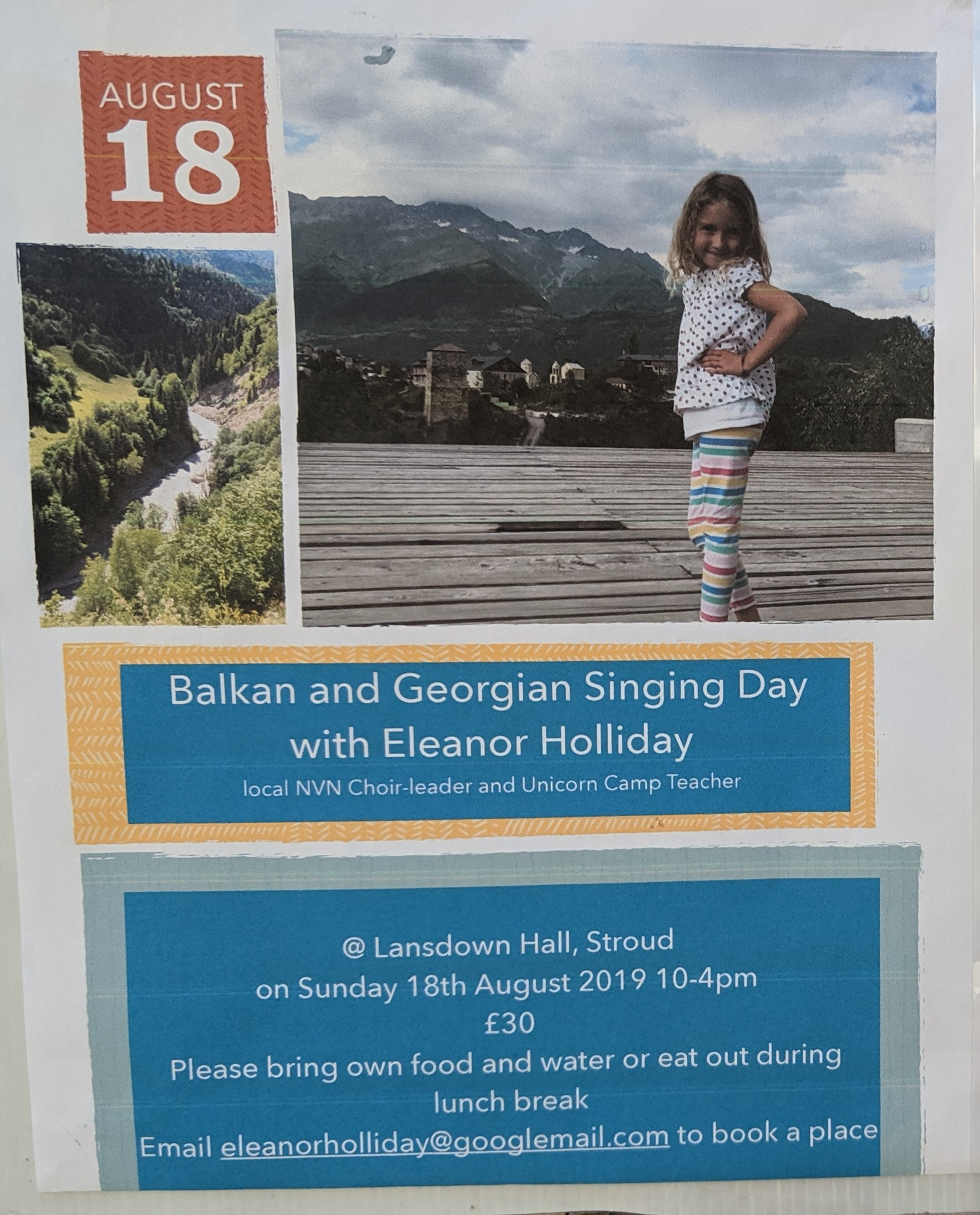 Balkan and Georgian Singing Day