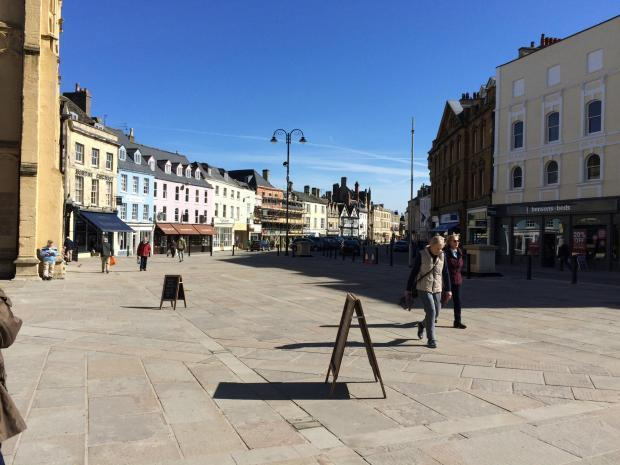 Cirencester Market Place