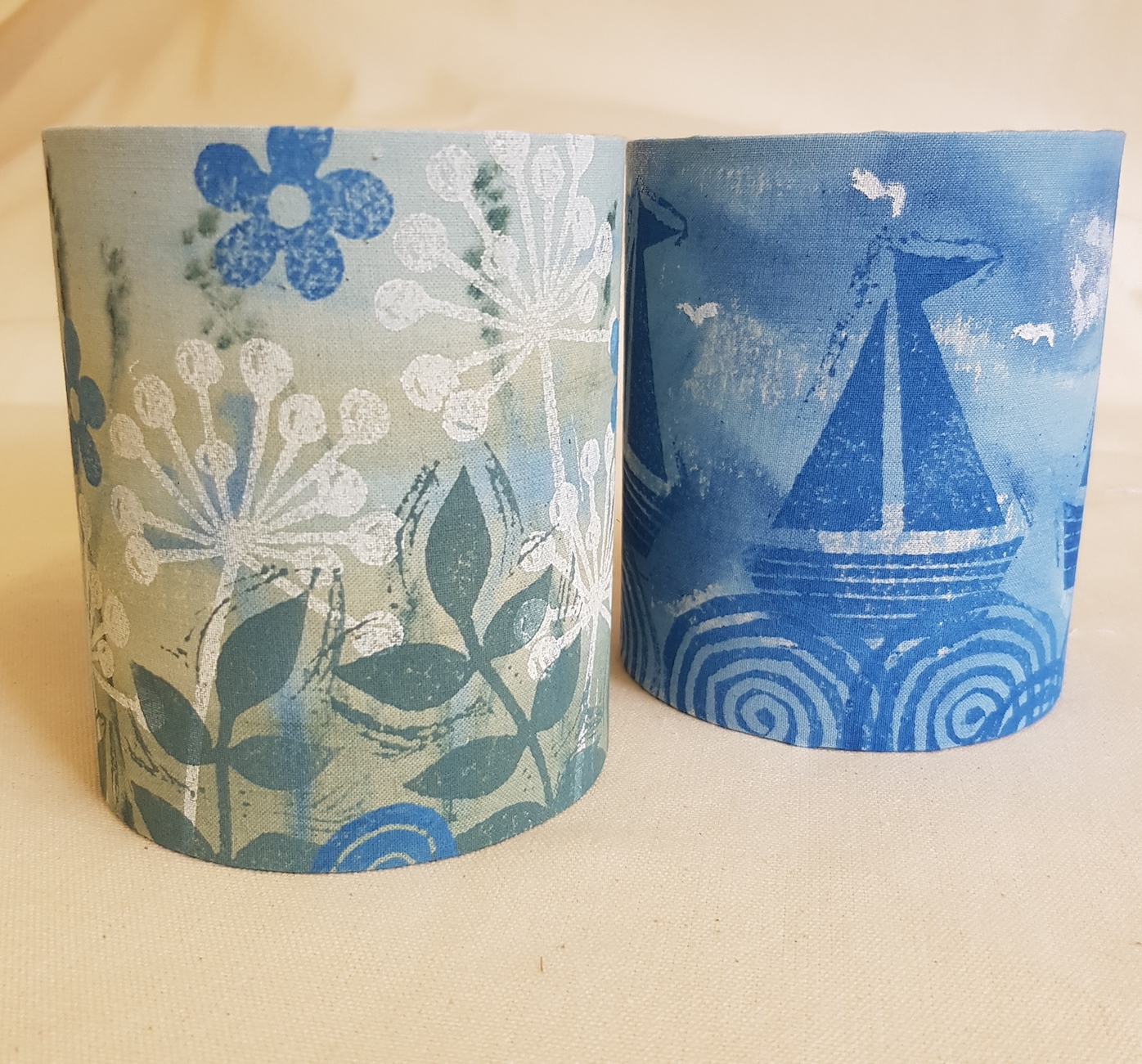 Lino Printed Lanterns Workshop
