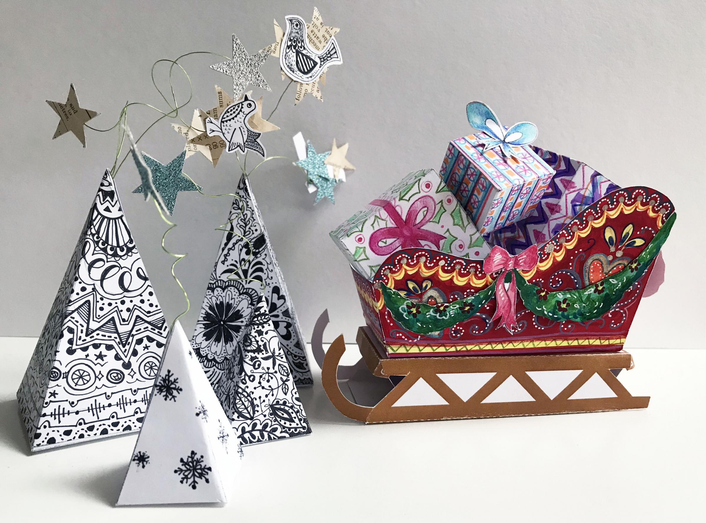 Christmas Papercraft Workshop