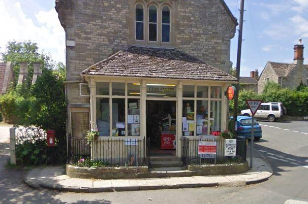The Coln store in Coln St Aldwyns. Picture - Google Street View