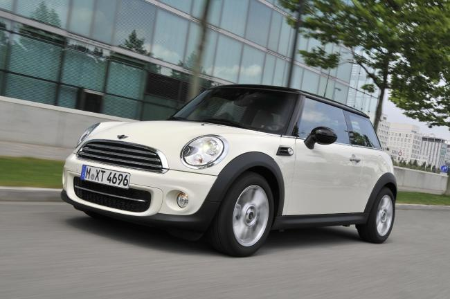 Odgen was caught driving a Mini Cooper. Pic - Stock image