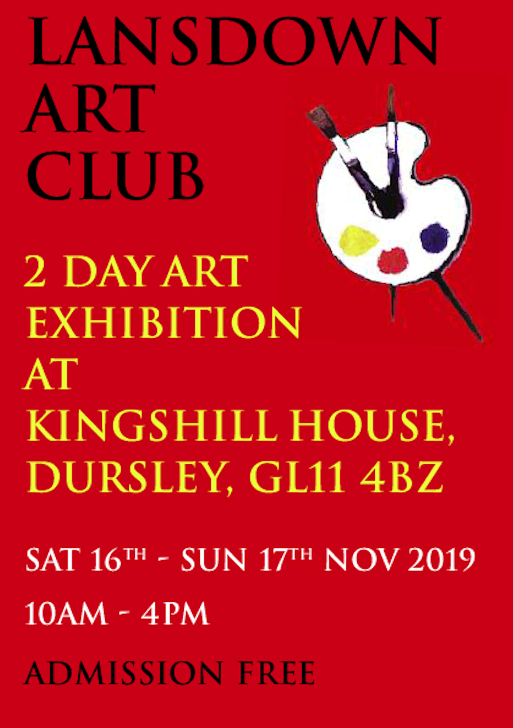 Lansdown Art Club Winter Exhibition
