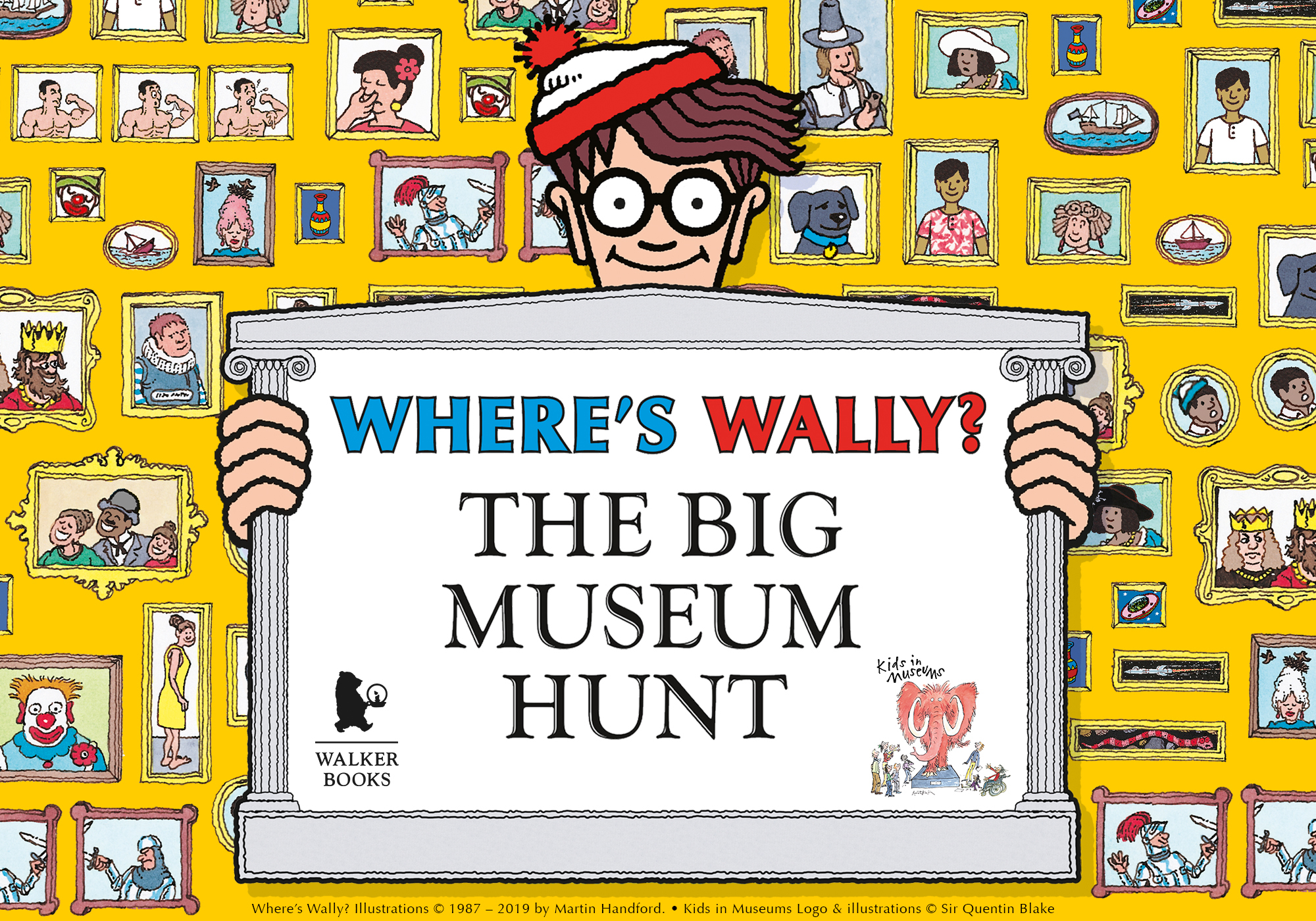 Where's Wally? The Big Museum Hunt