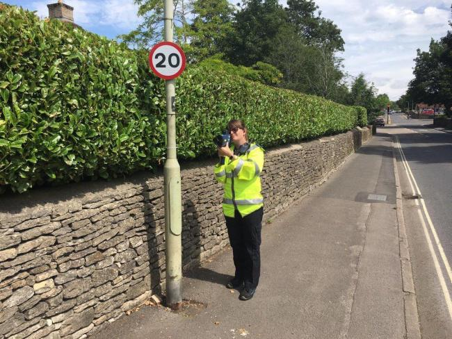Speed checks took place in Cirencester on Tuesday. Picture - stock image