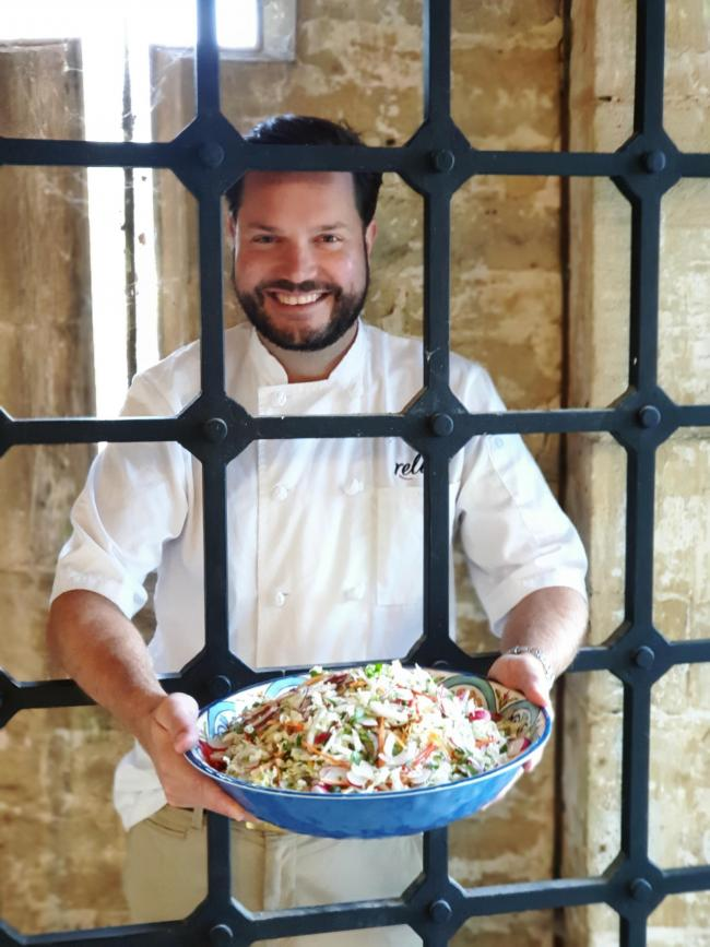 Chef Rob Goves at The Old Prison