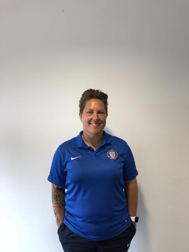 GFA women and girls' football development officer Alexis Lunn-Gadd
