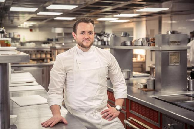 Chef Niall Keating from The Dining Room at Whatley Manor