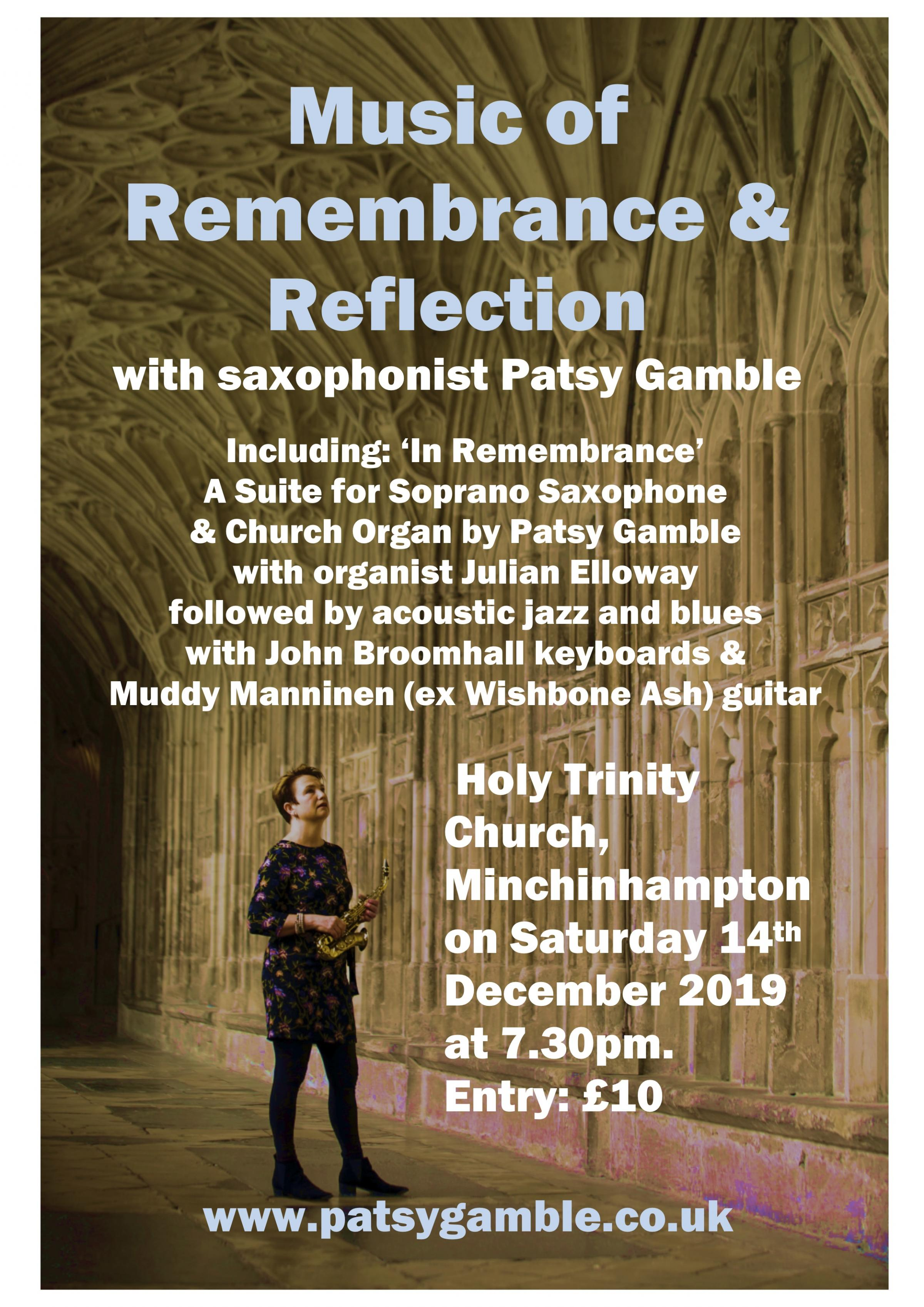 Music of Remembrance & Reflection