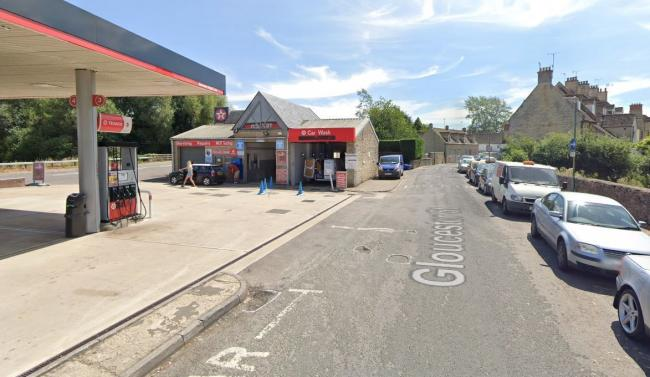 Abbey Way Services, Cirencester, where the incident occurred. Picture - Google Street View