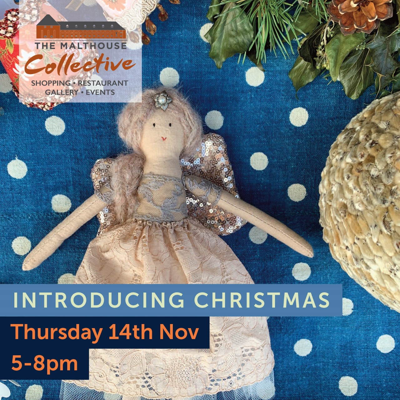 The Malthouse Collective's Introducing Christmas launch event