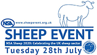 Wilts and Gloucestershire Standard: The NSA Sheep Event logo