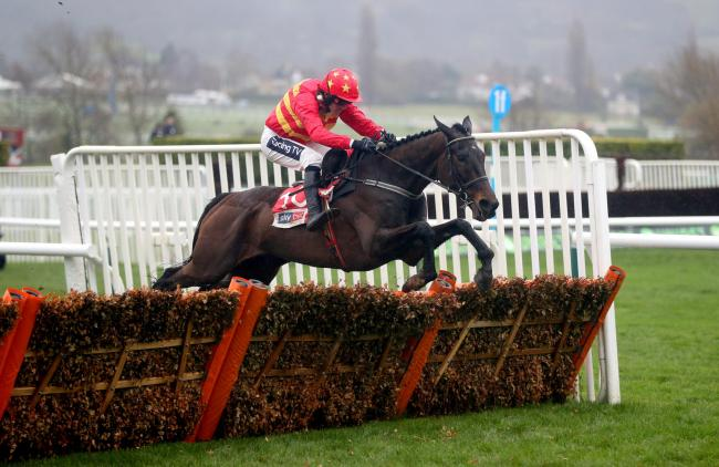 Klassical Dream ridden by jockey Ruby Walsh on the way to winning the Sky Bet Supreme Novices' Hurdle during Champion Day of the 2019 Cheltenham Festival at Cheltenham Racecourse..