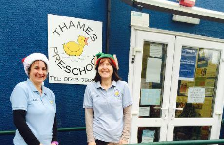 Thames Pre-School is celebrating its anniversary on Tuesday