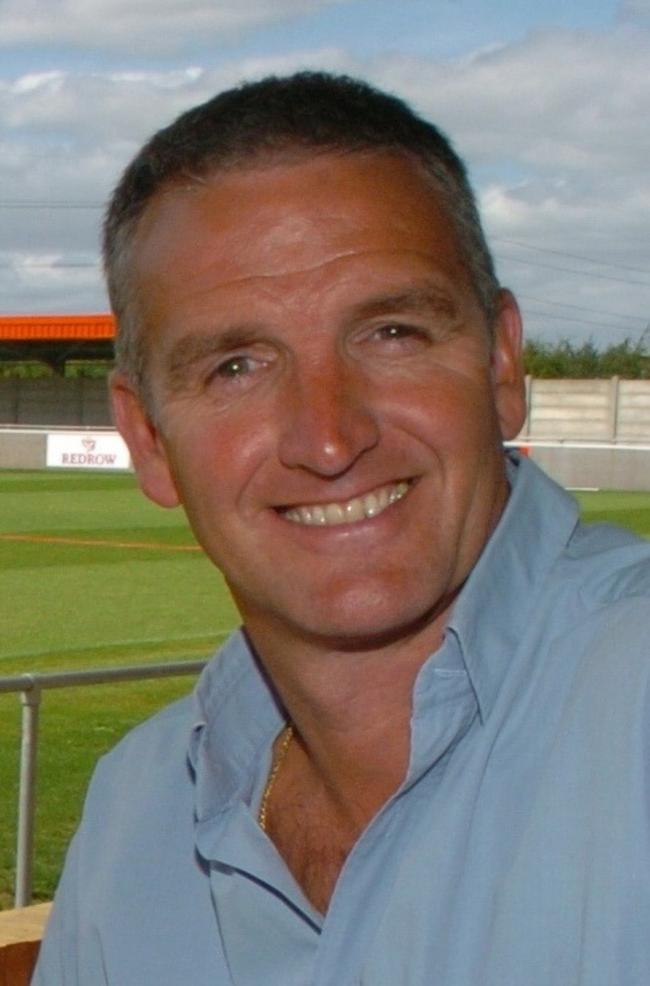 Steve Abbley - Chairman of Cirencester Town football club.  WGKT0027H06