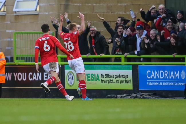 No veggie burgers or sardines for Forest Green fans, says Swindon Town follower Peter Mitchell