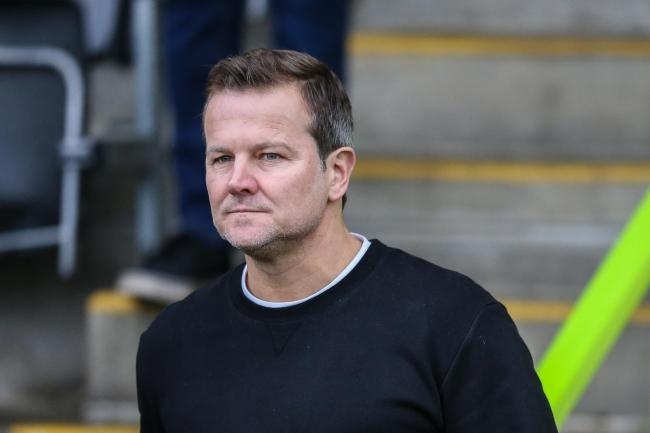 NO FEAR: Forest Green head coach Mark Cooper  Pic: Shane Healey/ Pro Sports Images