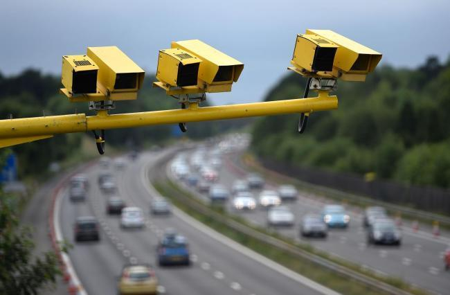 Over 90 percent of motoring offences recorded over the period were for speeding