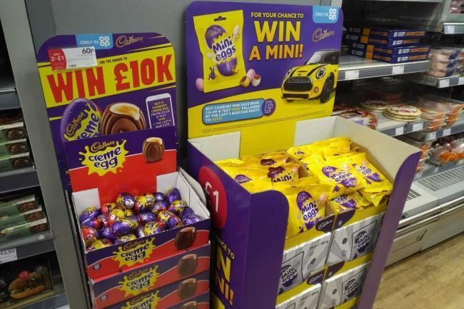 Co-op has started selling Easter chocolate