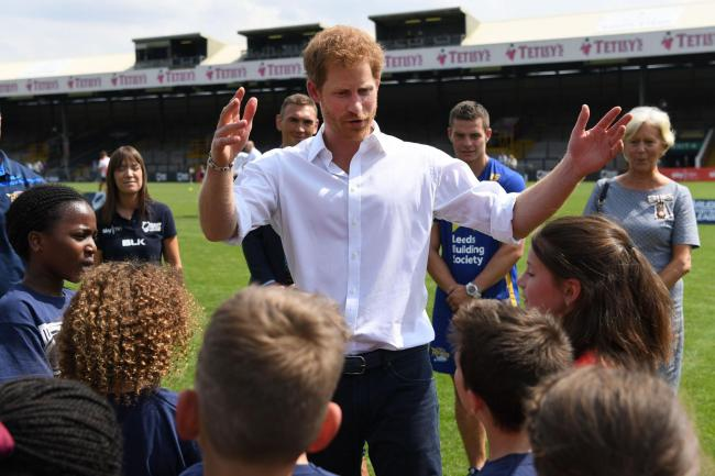Prince Harry visit to Leeds