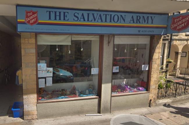 Cirencester Salvation Army Thanks Residents For Generous