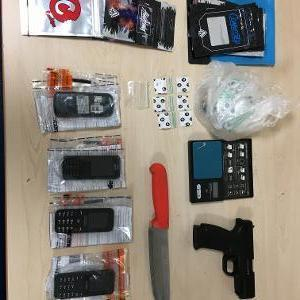 Seized items. Photo: Wiltshire Police