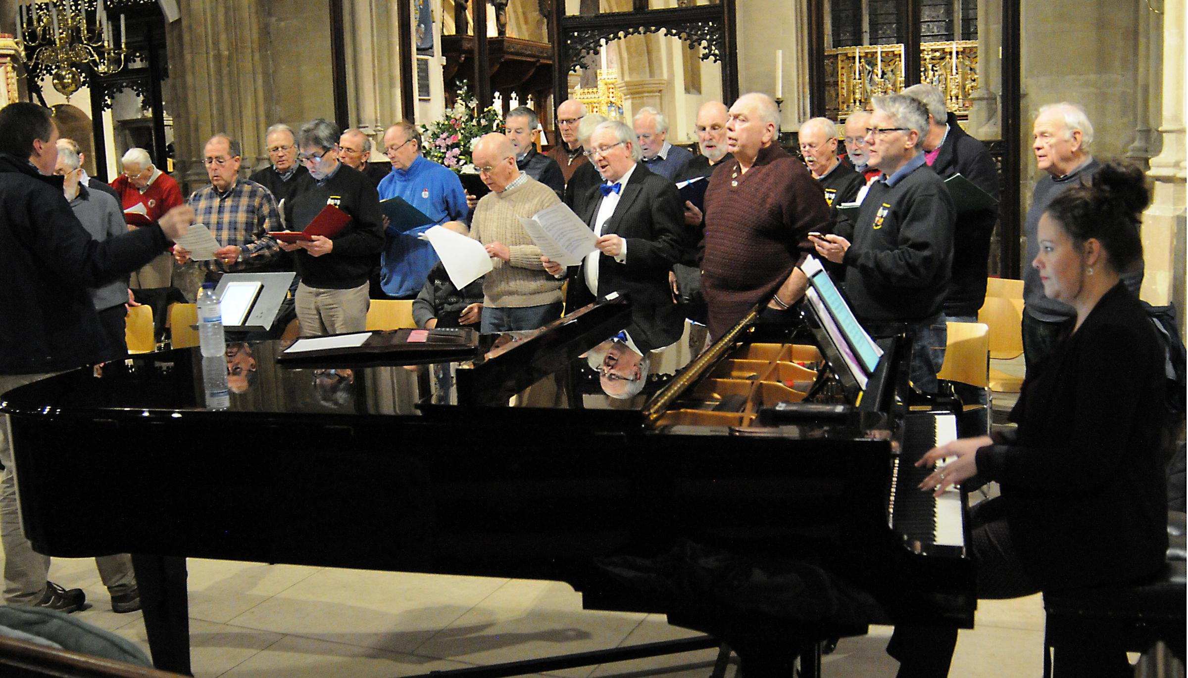 10946268 - Cirencester Male Voice Choir appoint new accompanist