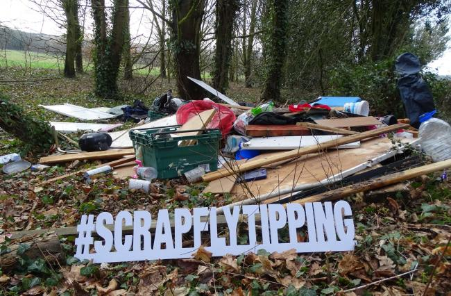 The Cotswold district launches new fly-tipping campaign to raise awareness
