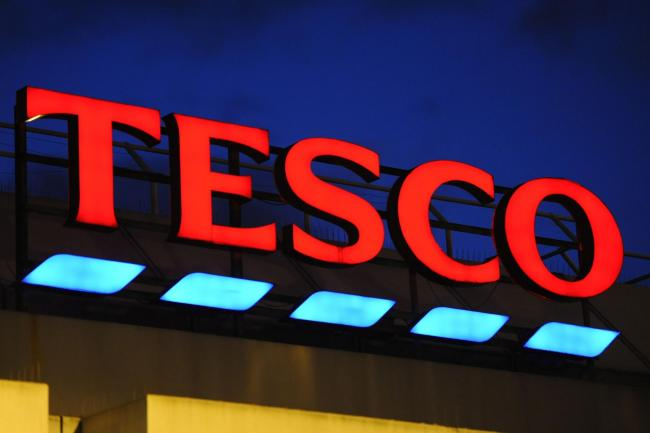 Tesco job cuts - pic. PA