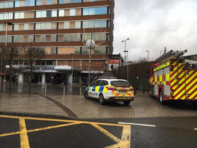 Death of man in his 70s at Swindon Station not suspicious