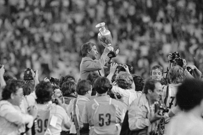 Michel Hidalgo, the manager of France when they won the European Championship in 1984, has died