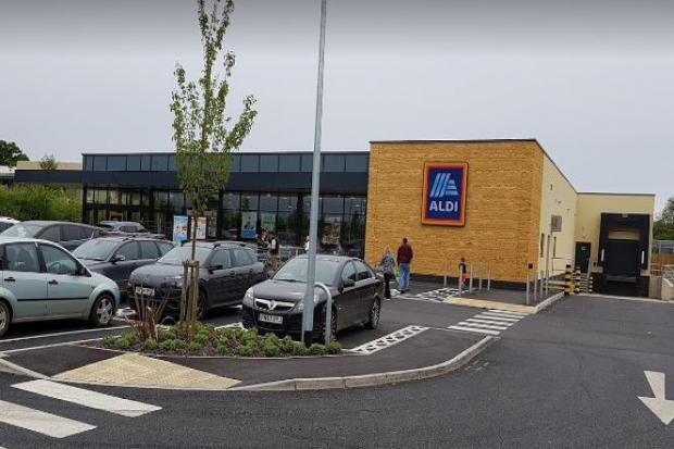 Aldi, Moreton-in-Marsh. Picture - Google Street View