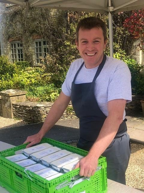 Executive chef for Calcot Manor Richard Davies