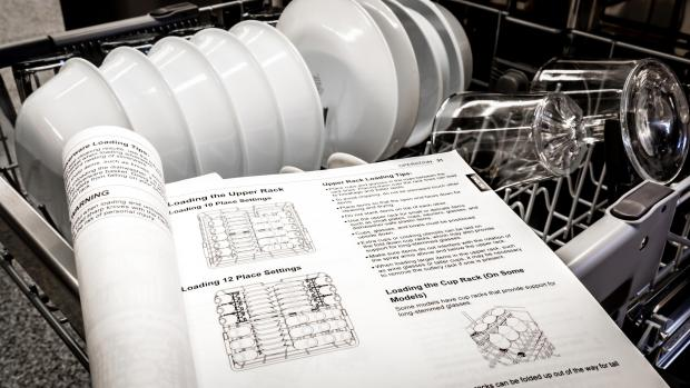 Wilts and Gloucestershire Standard: Find your dishwasher's user manual, and use it. Yeah, it's not a compelling read, but it will show you the best ways to load. And if anything ever goes wrong, the manual will help you troubleshoot. Credit: Reviewed / Jonathan Chan