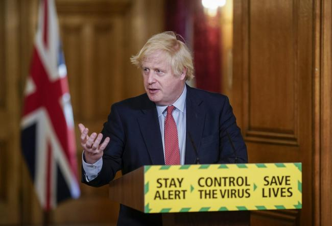 Boris Johnson Picture: DOWNING STREET/PA WIRE