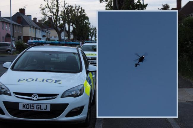 Four suspects have been released after a police chase from Cricklade toPinehurst
