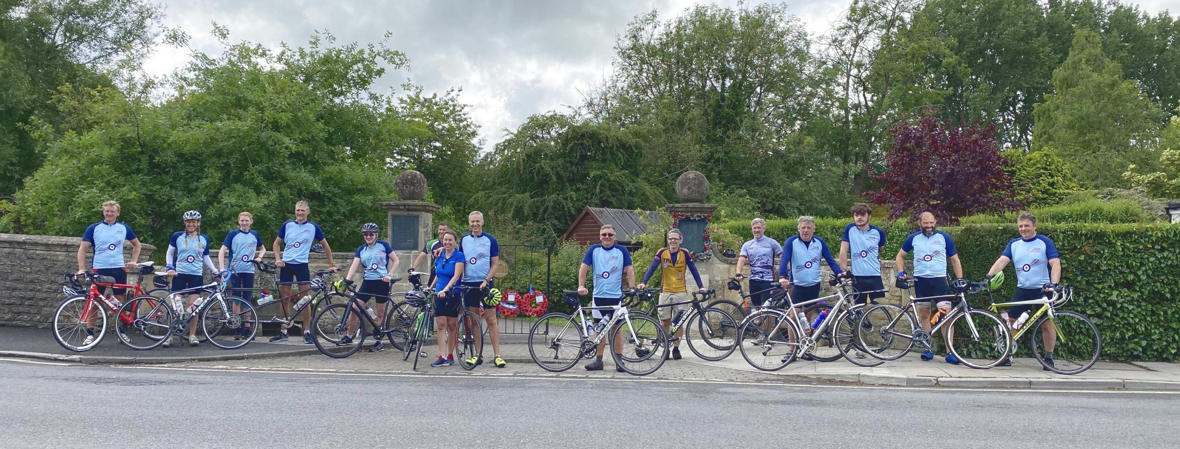 11504931 - RAF volunteers from Malmesbury raise £2,500 for veterans impacted by Covid-19
