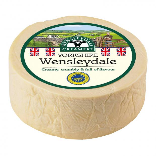 Wilts and Gloucestershire Standard: Wensleydale cheese. Picture credit: Wensleydale Creamery