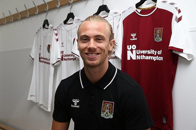 Joseph Mills has joined League One side Northampton Town