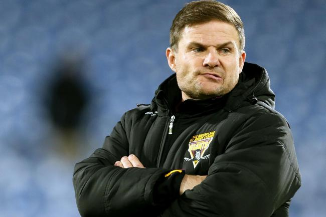 Simon Woolford has left Huddersfield Giants