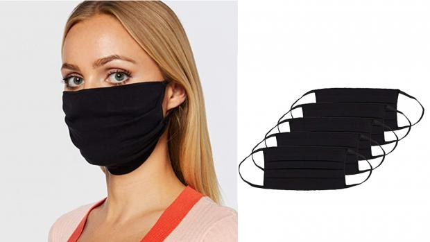 Wilts and Gloucestershire Standard: These pleated masks make for a better fit. Credit: Amazon / Oscar Apparels