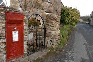Angry villagers brand lack of postbox a