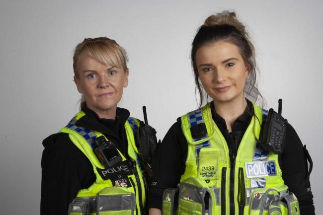 PC Sarah Crawford and PC Lucy Howard have been nominated for the National Police Bravery Awards