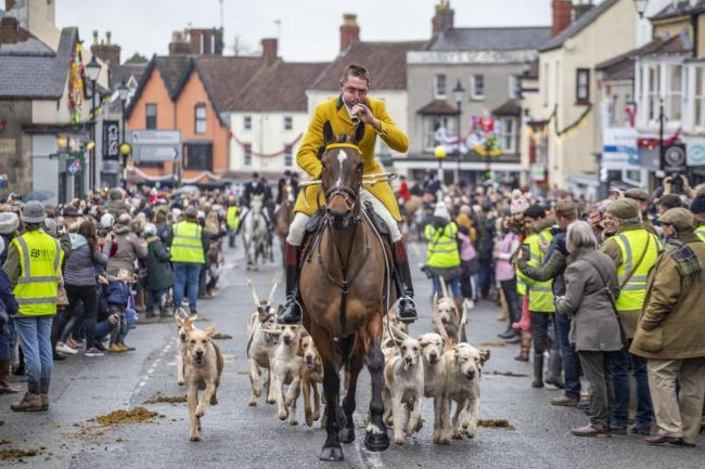 Berkeley Hunt in Thornbury