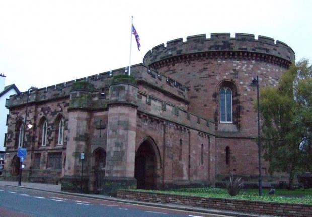 Wilts and Gloucestershire Standard: The Citadel, Carlisle