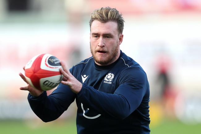 Stuart Hogg wants Scotland to get in the faces of France once again when they meet on Sunday