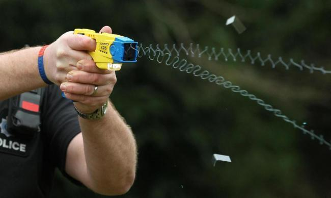 Figures have shown that last year, Wiltshire Police used Tasers on children over a dozen times
