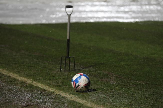 Forest Green's game against Mansfield Town was postponed